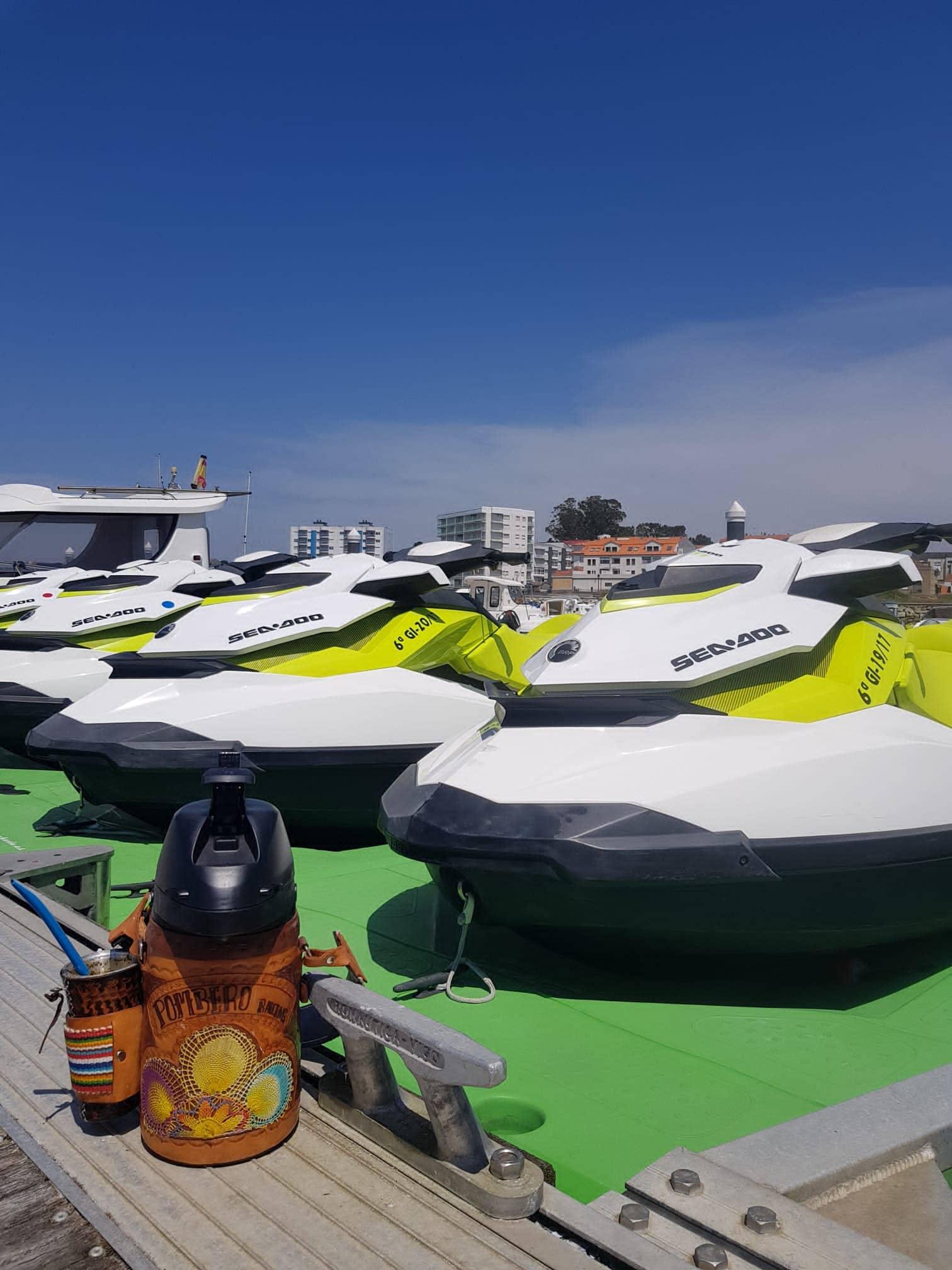 Alquiler de motos de agua en Vilanova de Arousa